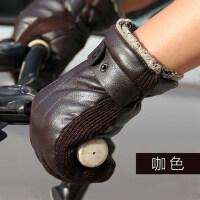 骑行手套全指男公路山地自行车电动车手套长指防滑非触屏手套