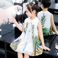 女童连衣裙夏装2019新款4儿童超洋气公主裙大童装5小女孩裙子7岁8