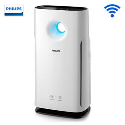 飞利浦 (PHILIPS) 空气净化器 除甲醛 除雾霾 除过敏原 除PM2.5 异味 智能APP控制 AC3268 数字显示质量,灵智感应,过滤多种污染源!