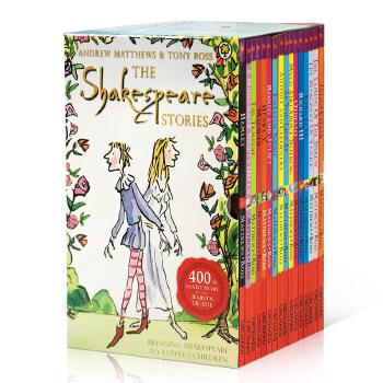 英文原版小说 The Shakespeare Stories 莎士比亚全集16册套装 儿童版 儿童章节小说书 中小学英语阅读提升