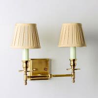 家居客厅餐厅卧室过道浴室装饰灯具 查尔斯铜制装饰壁灯