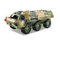 合金车回力小汽车惯性工程车模型男孩仿真装甲车男女孩儿童宝宝玩具消防车