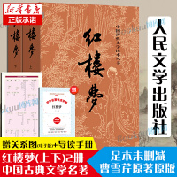 红楼梦(上下) 中国古典文学读本丛书~人民文学出版社
