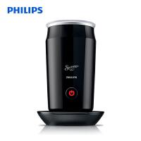 飞利浦(PHILIPS)多功能奶泡机 牛奶加热器 黑色CA6500/61