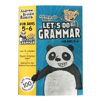英国小学英语语法练习册5-6岁 英文原版教材 Let's Do Grammar 英文版进口书籍