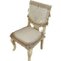 欧式椅子垫暗纹提花蕾丝坐垫椅子餐椅垫座垫加厚四季通用冬季套装