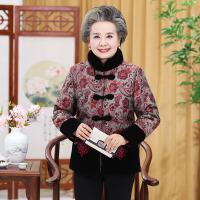 中老年棉衣 老年人奶奶装2020冬装新款加厚棉衣中老年妈妈装加绒棉袄