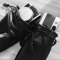 富士X100F相机包X100T皮套X20X30X70相机内胆包手工羊皮定制 X100加遮光罩内外全皮