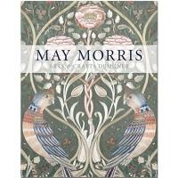 【T&H】May Morris: Arts&Crafts Designer,梅莫里斯:刺绣工艺设计师 英文原版图形图案