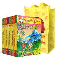 正版 Geronimo Stilton 英文原版书 老鼠记者41-50册 儿童小说章节书 全彩插画漫画探险小说 英语文