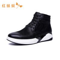 红蜻蜓新款休闲男鞋