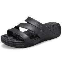 Crocs卡骆驰拖鞋女鞋2021夏新款运动鞋沙滩鞋休闲凉拖凉鞋 206304 蒙特利女士坡跟凉拖