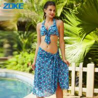 洲克欧美比基尼泳衣女小胸大胸钢托聚拢时尚性感新款