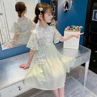 汉服女童连衣裙夏装儿童公主裙女孩童装旗袍夏季裙子
