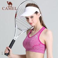 camel骆驼运动女舒适运动背心健身跑步瑜伽运动内衣文胸瘦身装备背心