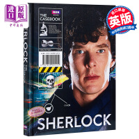 【中商原版】福��摩斯BBC Sherlock the Casebook 神探夏洛克 英文版 官方指南 原版精�b