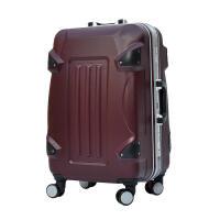 铝框拉杆箱20寸24寸28寸PC旅行箱包万向轮行李箱子密码箱飞机轮