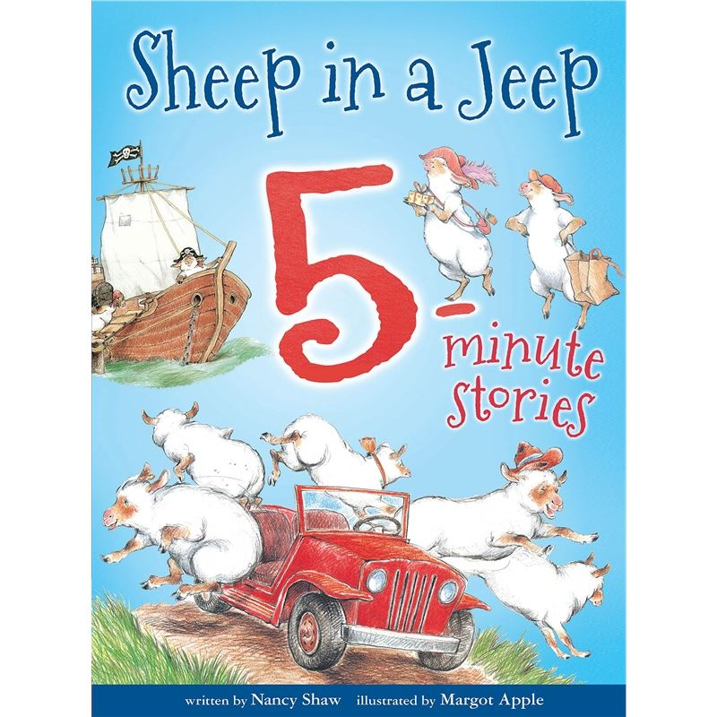 Sheep in a Jeep 5-Minute Stories 9781328566744
