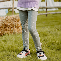 【2件3折到手价:36】小猪班纳童装女童紧身打底裤秋外穿洋气儿童2020款弹力长裤中大童