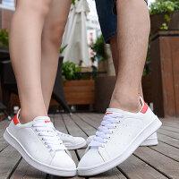 2017夏季透气史密斯男鞋休闲运动鞋明星同款低帮日常板鞋女鞋小白鞋情侣鞋