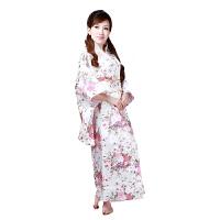 秋冬季时尚表演服饰长袖和服唐装服饰舞台表演服装写真日本女士正装日本武士服装 休闲衣裤