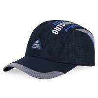 帽子夏季新款韩版男士户外运动棒球帽女士防晒遮阳帽速干透气网帽