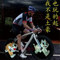 自行车风火轮骑行辐条钢丝灯Monkey Light夜骑月骑LED视频显示器