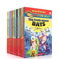 英文原版 Magic School Bus chapter book 神奇校车17册 章节书 送音频6-8岁儿童绘本