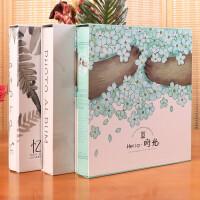 相册 创意礼品影集6寸过塑横竖版700张插页式家庭宝宝成长结婚纪念册生日礼物女生