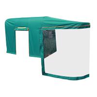 滕飞龙电动三轮车车棚遮阳棚挡雨棚方管折叠封闭三轮车棚篷雨棚