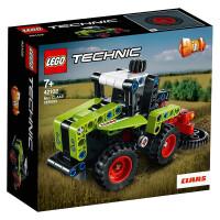 【当当自营】LEGO乐高积木 王一博同款赛车科技机械组系列42102 迷你CLAAS XERION 拖拉机拼装益智小颗