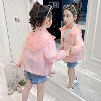 女童儿童外套夏装洋气小女孩透气上衣