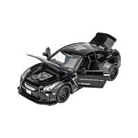 合金小汽车玩具男孩儿童玩具车模型仿真金属公路战神跑车玩具回力