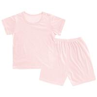 夏季儿童睡衣薄款男童女童透气短袖宝宝小孩空调家居服