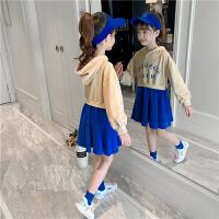 女童春秋连衣裙春装儿童裙子春装大童时髦洋气公主裙