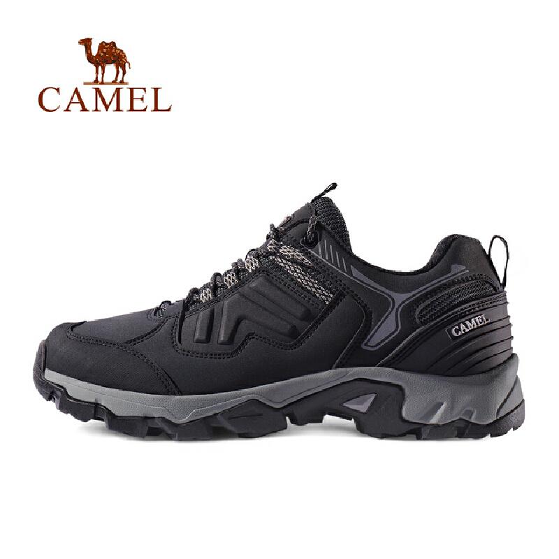 camel骆驼户外徒步鞋 轻便透气防滑防撞减震男女休闲徒步