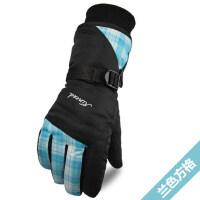 保暖手套女士手套韩版可爱加绒加厚棉骑行滑雪手套女