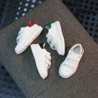 春季男女童套脚轻便运动鞋简单小白鞋中大童学生鞋