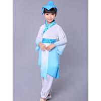 2016新款儿童书童演出服古装汉服民族服装国学服弟子规服