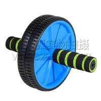 腹肌轮 健腹轮 锻炼练腹部健身器材家用滚轮收腹健身巨轮俯卧撑轮