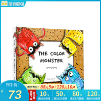 顺丰发货 The Color Monster 我的情绪小怪兽点读版 英文原版绘本 3D弹起立体书 Colour 亲子启