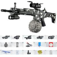 绝地M416儿童吃鸡可发射玩具枪抢电动连发射男孩求生SCAR*冲锋玩具枪