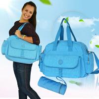 妈咪包 大容量 斜跨妈妈包 多功能孕妇包 母婴环保待产包