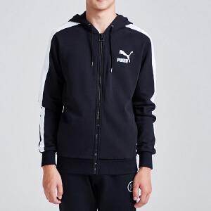 PUMA彪马运动服年男装针织外套开衫卫衣57758601