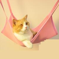 【支持礼品卡】猫吊床挂钩秋千宠物猫咪挂窝笼子用悬挂式夏窝猫吊篮猫笼挂床 t2j