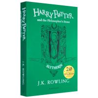 哈利波特与魔法石 斯莱特林学院20周年纪念版英文原版 Harry Potter and the Philosopher