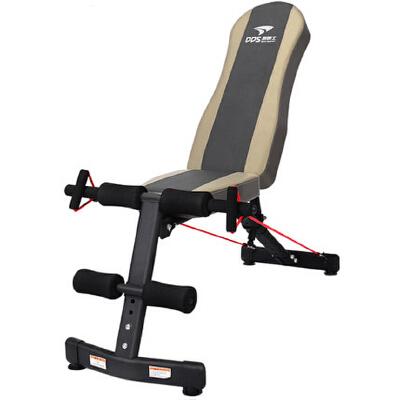 哑铃凳仰卧起坐健身器材家用多功能仰卧板收腹肌运动椅 承重六百斤 档位快速调节