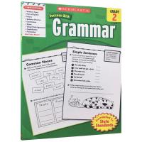 正版 美国小学二年级英语语法练习册 英文版原版 Scholastic Success with Grammar 2 英