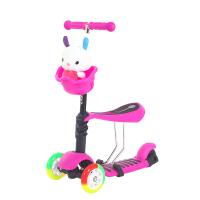 OpenBaby 欧培 闪光带座椅滑板车 漂移车 学步车三合一款