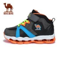 骆驼童鞋春中大童运动鞋男女儿童保暖弹簧鞋
